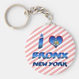 I love Bronx, New York Keychains