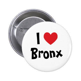I Love Bronx Pinback Button