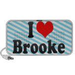 I love Brooke Travelling Speakers