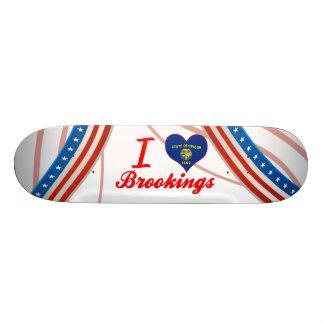 I Love Brookings, Oregon Skate Board