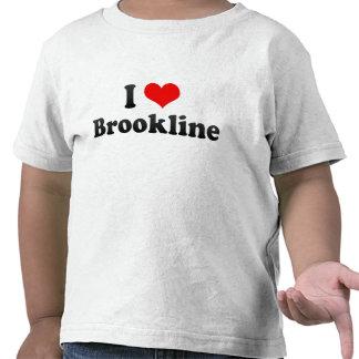 I Love Brookline, United States Shirt