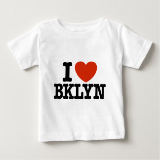 I Love Brooklyn Baby T-Shirt