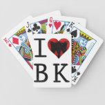 I Love Brooklyn, BK New York Bicycle Card Deck