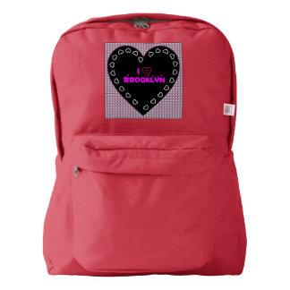 I Love Brooklyn Diamonds Backpack