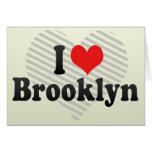 I Love Brooklyn Greeting Card