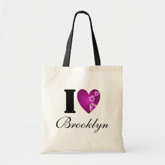 I Love Brooklyn Heart Tote Bag