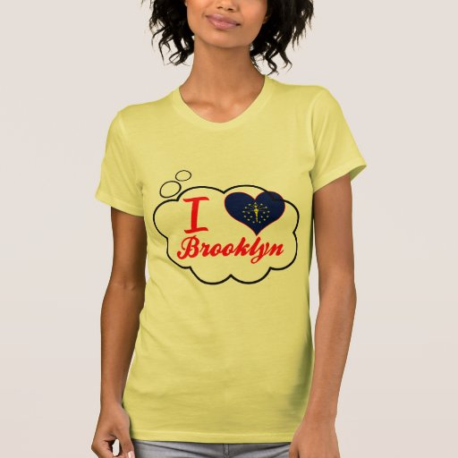 I Love Brooklyn, Indiana Tee Shirt