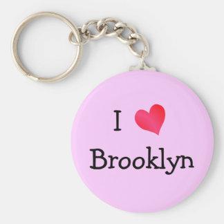 I Love Brooklyn Key Chains