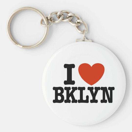 I Love Brooklyn Keychain