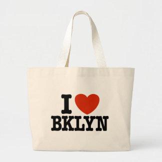 I Love Brooklyn Large Tote Bag