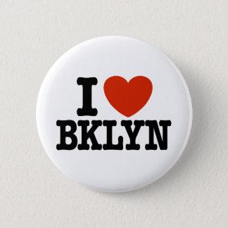 I Love Brooklyn Pinback Button