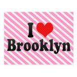I Love Brooklyn Postcard
