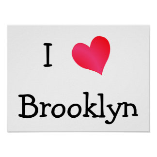 I Love Brooklyn Print