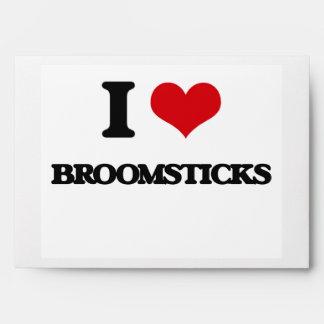 I Love Broomsticks Envelope