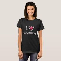 I Love Browbeating T-Shirt