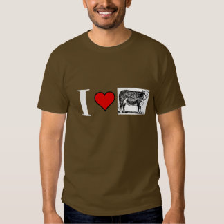 I love brown cows t shirts