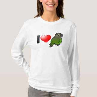 I Love Brown-headed Parrots T-Shirt