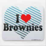 I Love Brownies Mouse Pad