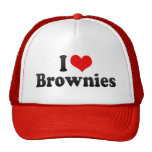 I Love Brownies Trucker Hat