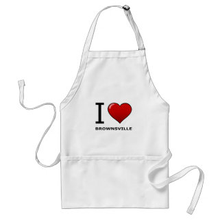 I LOVE BROWNSVILLE,TX - TEXAS ADULT APRON