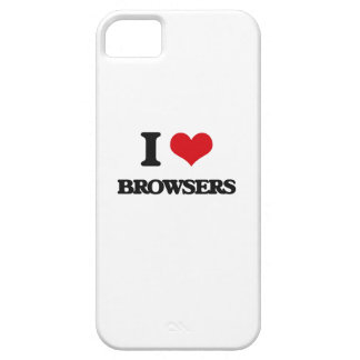 I Love Browsers iPhone 5 Covers