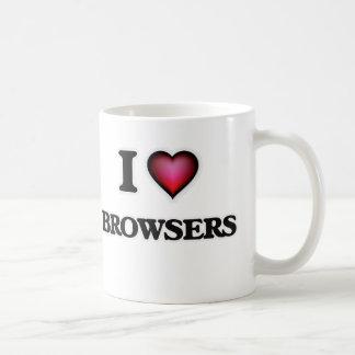 I Love Browsers Coffee Mug