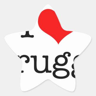 I Love Brugge Star Sticker