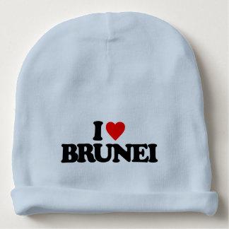 I LOVE BRUNEI BABY BEANIE