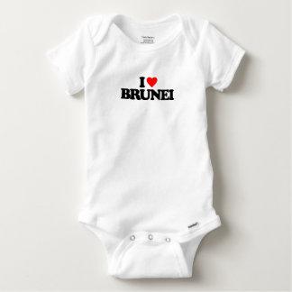 I LOVE BRUNEI BABY ONESIE