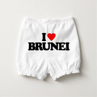 I LOVE BRUNEI DIAPER COVER
