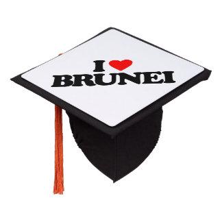 I LOVE BRUNEI GRADUATION CAP TOPPER