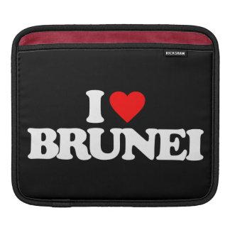 I LOVE BRUNEI iPad SLEEVES