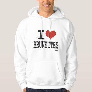 I love brunettes pullover