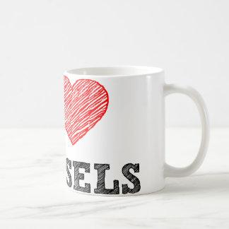 I Love Brussels Coffee Mug