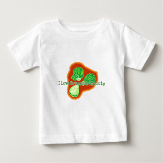 I Love Brussels Sprouts Baby T-Shirt