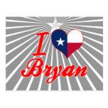 I Love Bryan, Texas Post Card