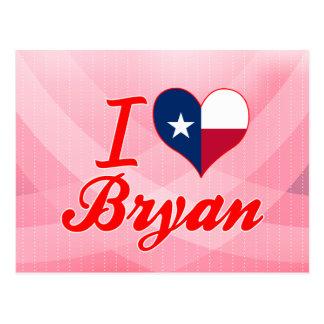 I Love Bryan, Texas Postcard