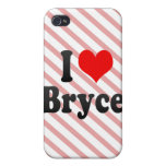 I love Bryce Covers For iPhone 4
