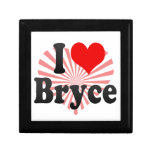I love Bryce Keepsake Box