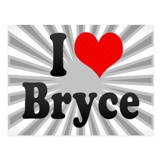 I love Bryce Postcard