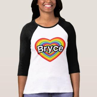 I love Bryce: rainbow heart Shirt
