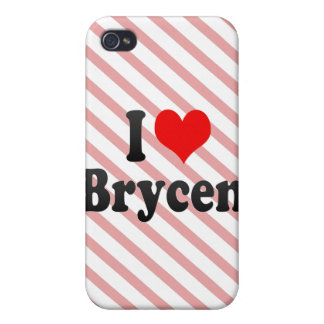 I love Brycen Case For iPhone 4