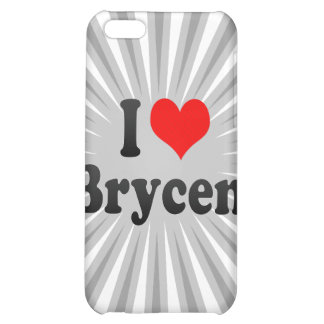 I love Brycen iPhone 5C Covers