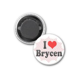 I love Brycen Magnet