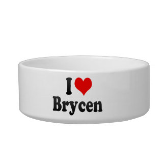I love Brycen Pet Water Bowl