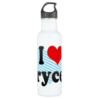 I love Brycen 24oz Water Bottle
