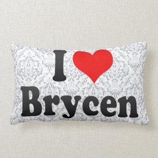 I love Brycen Throw Pillow