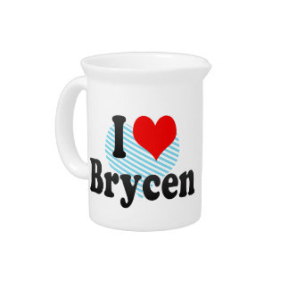 I love Brycen Drink Pitchers