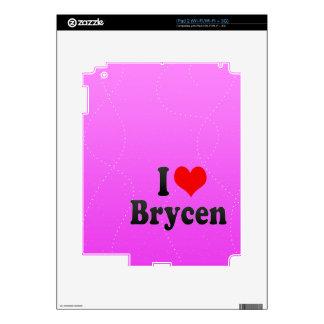 I love Brycen Skin For iPad 2