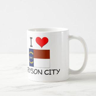 I Love Bryson City North Carolina Classic White Coffee Mug
